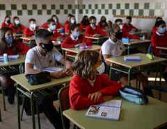 Regreso a clases presenciales en España