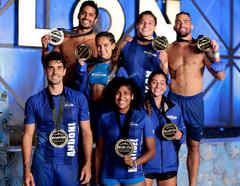 Contendientes del Torneo con sus medallas