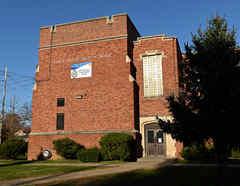 Una vista de Glen Rock High School mientras el coronavirus continúa propagándose por Estados Unidos en Glen Rock, Nueva Jersey.