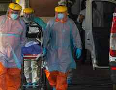 Un enfermo de coronavirus en Chile.