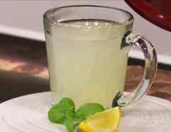 Infusión de limón con jengibre