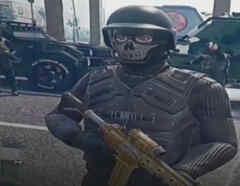 Imagen de un video publicado por supuestos narcos de México a través de la red social TikTok.