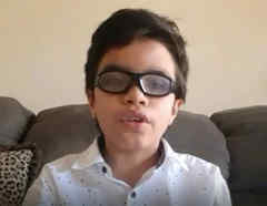 El niño Gabriel Villar pide al presidente Biden que lo reúna con su familia en EE.UU.