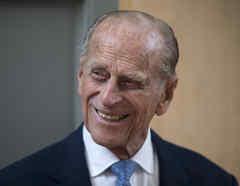 El príncipe británico Philip en una fotografía de archivo