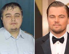 Leonardo DiCaprio y su doble ruso.