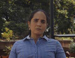 Marian Pérez Guerra, refugiada nicaragüense, radicada en México.