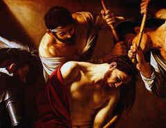 La Coronación de Espinas, Caravaggio