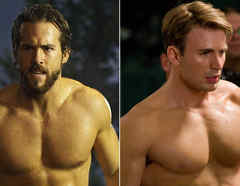 Ryan Reynolds y Chris Evans