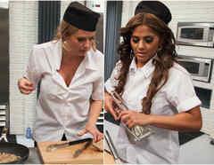 Sissi Fleitas y Maripily Rivera en Top Chef Estrellas