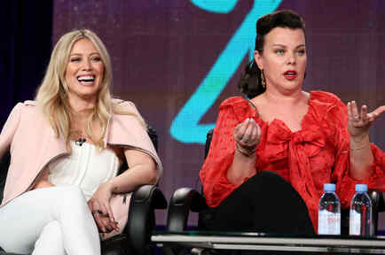 Hilary Duff y Mari Mazar