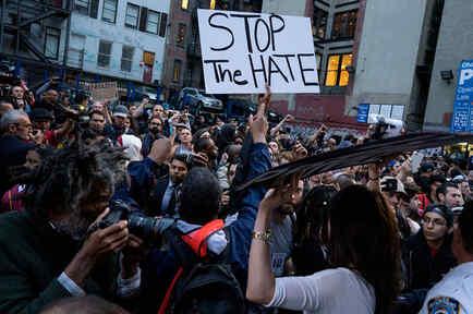 protestas en las calles por muerte de afroamericano en baltimore
