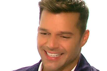 """Ricky Martin en su rueda de prensa de """"Minions"""""""