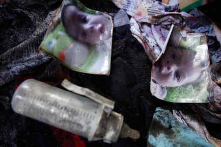 bebe muerto en incendio ataque territorio palestinos