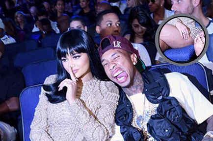Kylie Jenner y Tyga en los MTV VMAs 2015