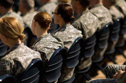 Mujeres en el ejército de EEUU