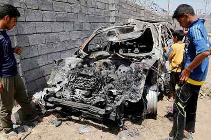 Carro Bomba en Bagdad