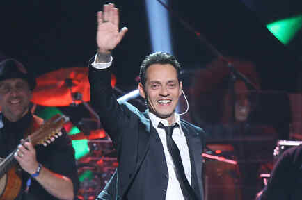 Marc Anthony durante 2016 Latin GRAMMY Person of The Year