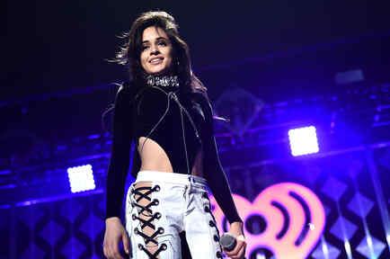 Camila Cabello de Fifth Harmony en el Jingle Ball Atlanta, Georgia