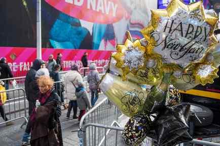 Times Square se prepara para recibir el 2017