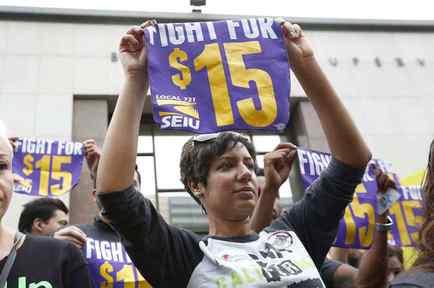 Lucha por aumentar el salario mínimo
