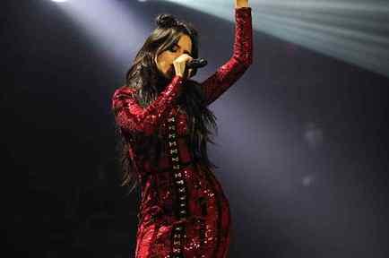 Camila Cabello at Jingle Ball