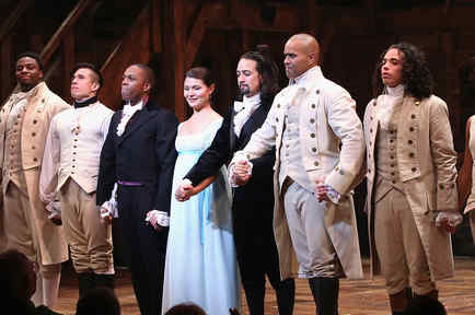 """Hamilton"" Broadway Opening Night en el Richard Rodgers Theatre"