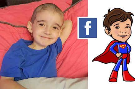 Santiago, superhéroe en Facebook