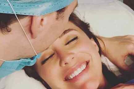 Anahí Reveals Adorable Photo of Her Newborn Son Manuel