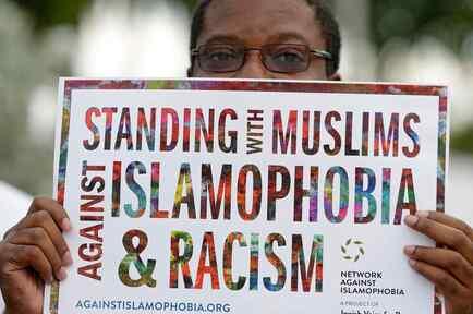 Protestas contra veto a musulmanes en EEUU