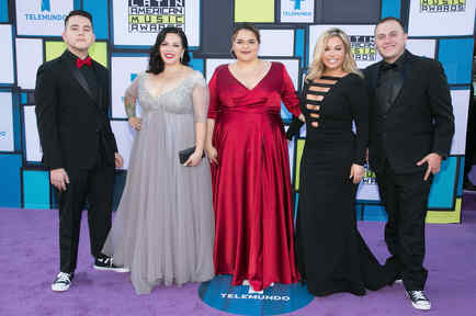 The Riveras at the Latin American Music Awards