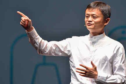 Jack Ma, CEO de Alibaba