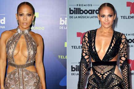 Jennifer Lopez en los Premios Billboard de la Música Latina 2017