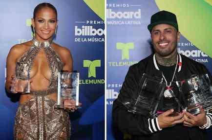 Jennifer Lopez and Nicky Jam