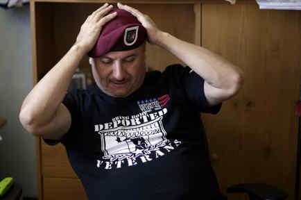Hector Barajas veterano deportado