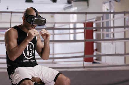 Pelea UFC por realidad virtual