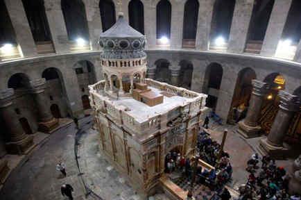 Más antigua de lo que se cree la presunta tumba de Cristo