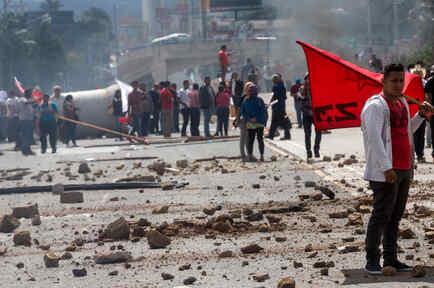 Violencia en Honduras a la expectativa de los resultados de las elecciones presidenciales