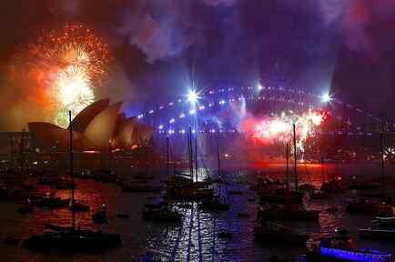 Celebración de Año Nuevo