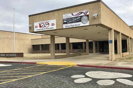 La escuela secundaria de Dalton, en una imagen del pasado 24 de febrero.