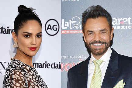 Eiza González y Eugenio Derbez