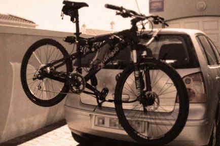 bike rack car