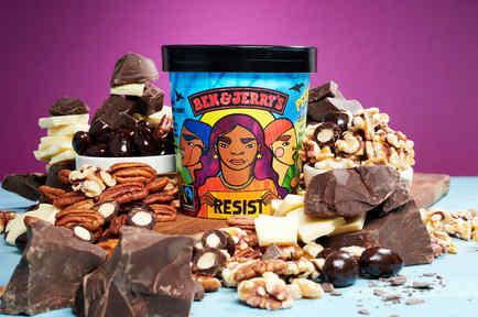 Imagen del nuevo helado Pecan Resist, de la marca Ben& Jerry´s.