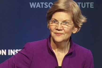 La senadora de Massachusetts Elizabeth Warren en una foto de archivo