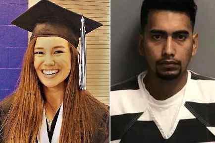Foto de archivo de Mollie Tibbetts y el indocumentado Cristhian Bahena Rivera quien se declaró culpable el asesinato de la joven