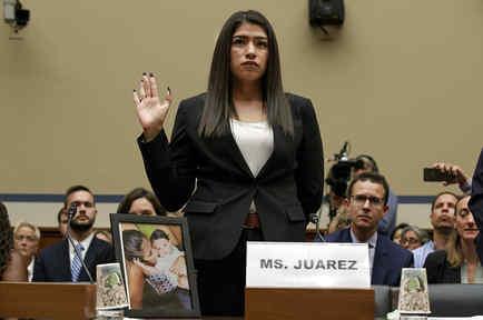 Yazmín Juárez, la madre guatemalteca que perdió a su hija semanas después de salir de un centro de detención de ICE en Dilley, Texas.