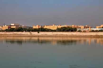 El complejo de la embajada estadounidense en Bagdad, en una imagen de principios de enero.
