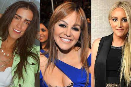 Bárbara de Regil, Jenni Rivera y Jamie Lynn Spears