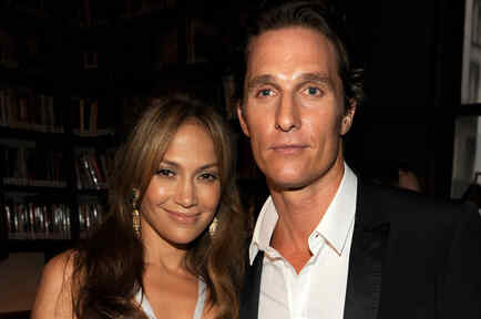 Jennifer Lopez y Matthew McConaughey