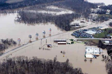 Inundaciones en Misuri