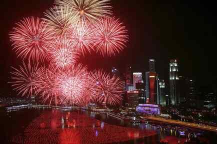 Año nuevo en Singapur